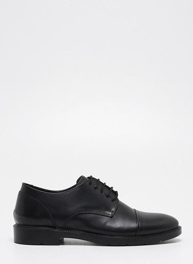 F By Fabrika Fabrika Sentetik Ve Deri Karışımlı Bağcıklı Venna Klasik Erkek Ayakkabı Siyah